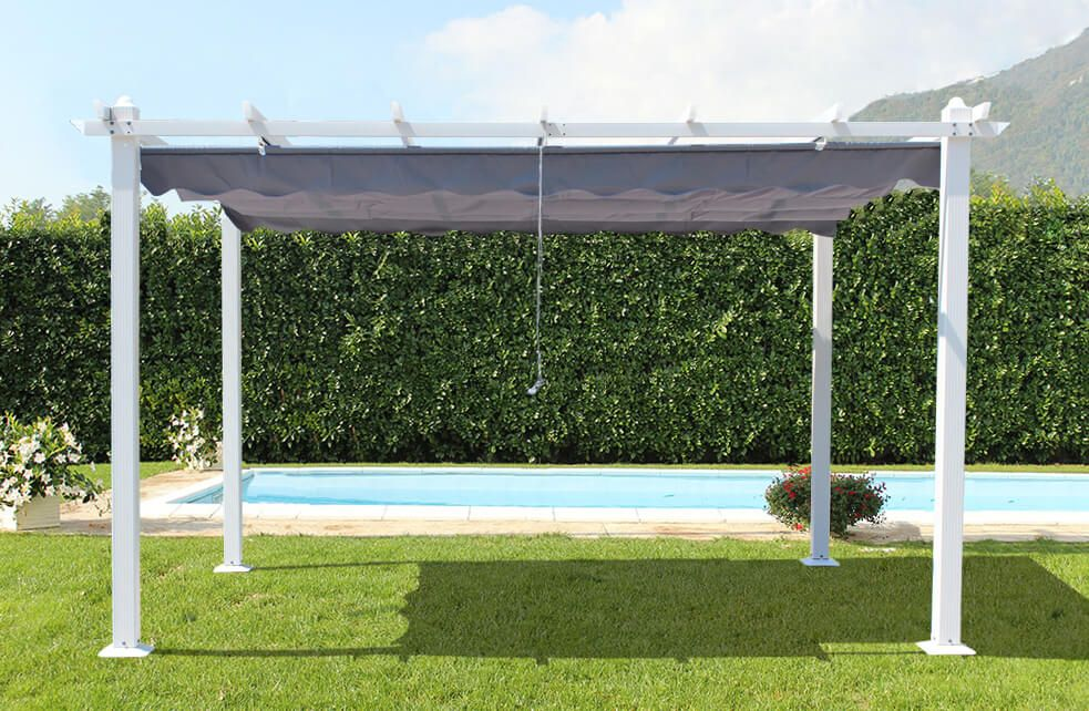 Arredare il nostro spazio verde con un gazebo da giardino